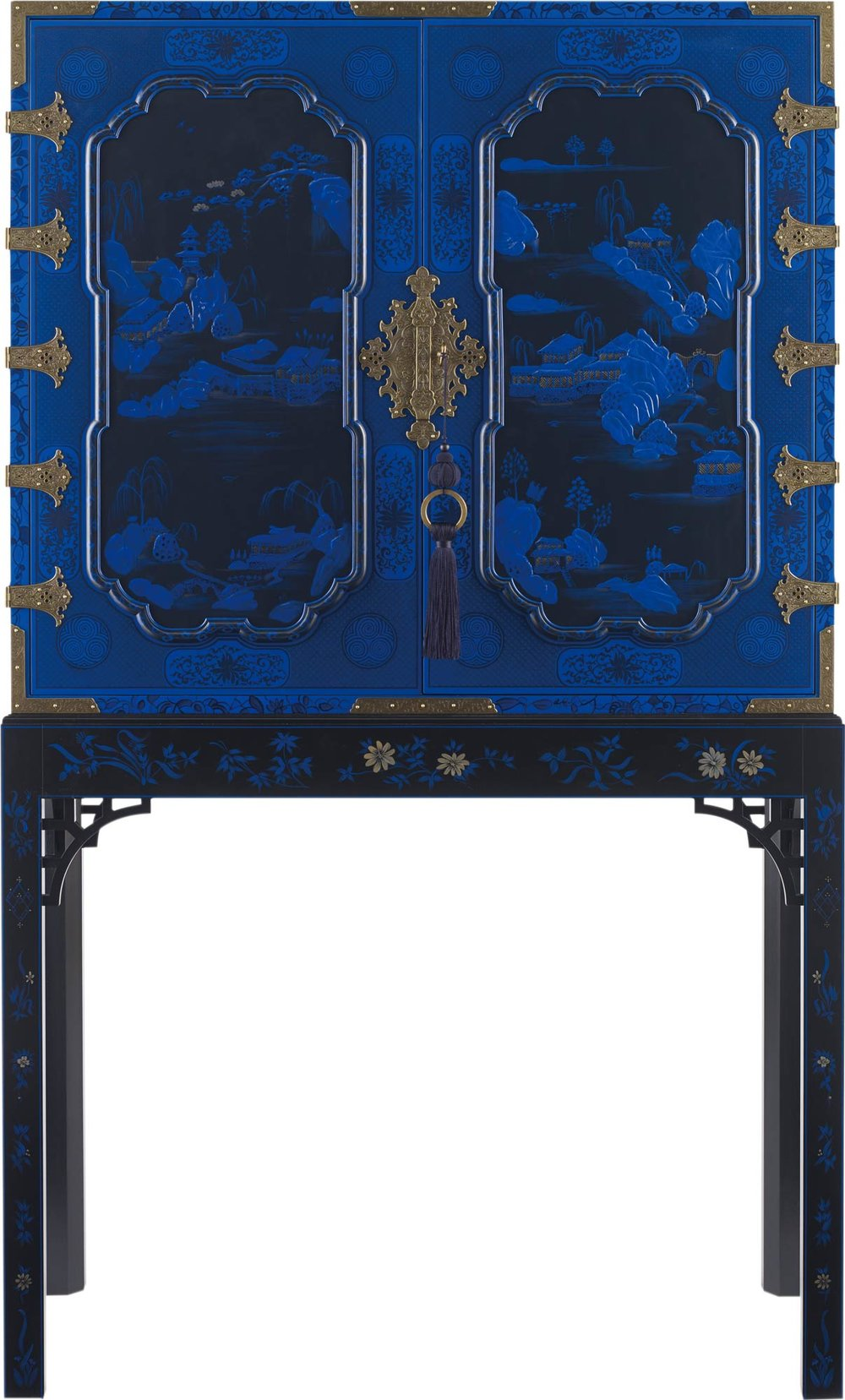 Baker Furniture George III Oriental Lacquer Cabinet $82,110 At Brougham Interiors