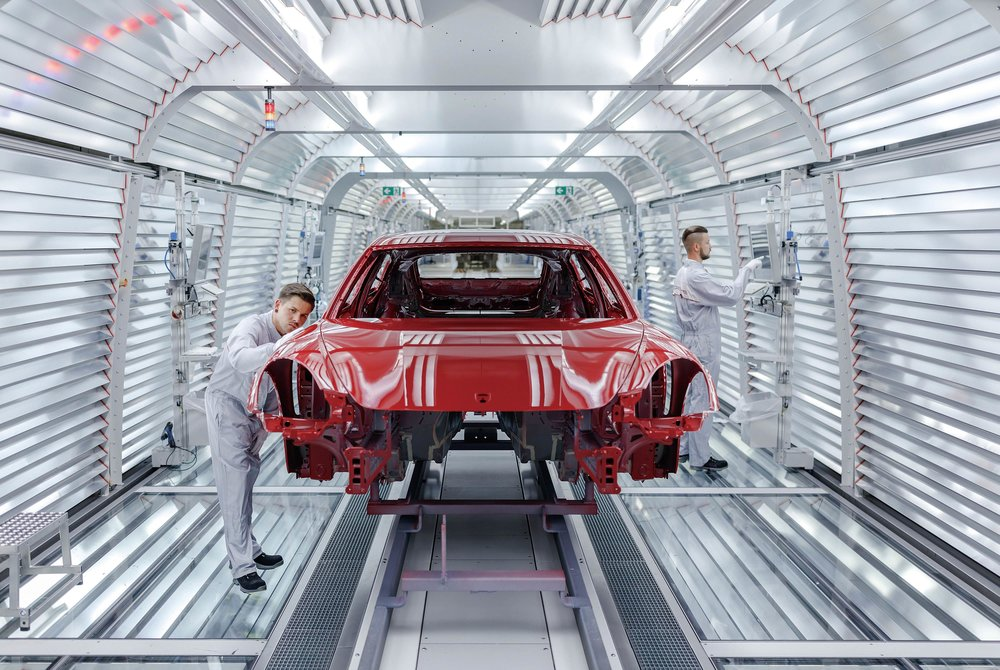 Porsche's Leipzig factory is its largest, where it manufactures its top-selling cars, such as the Macan, Cayenne, and Panamera.