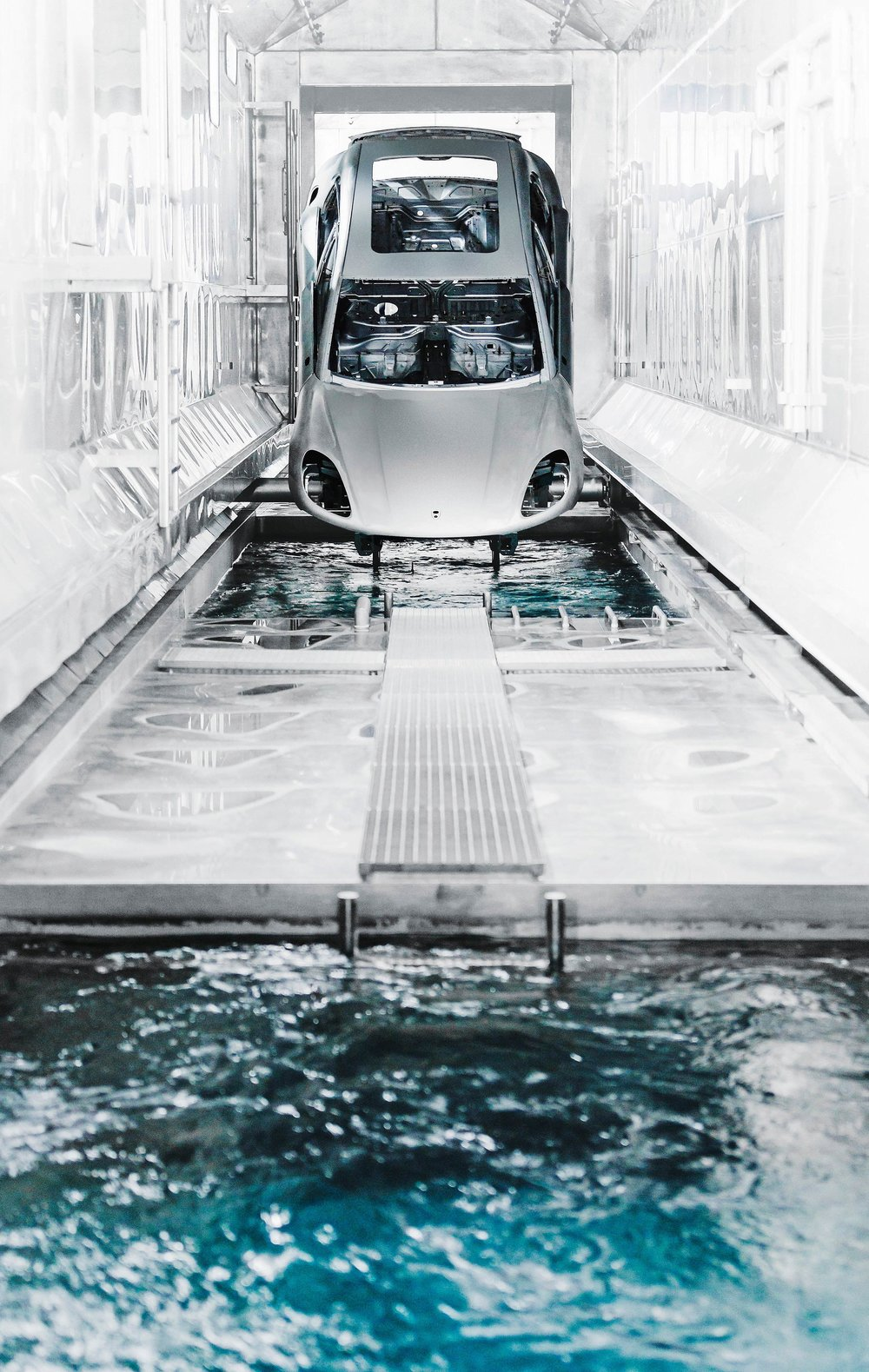 A private insider look into, and outside, the sports car's million-square-foot factory in Leipzig.