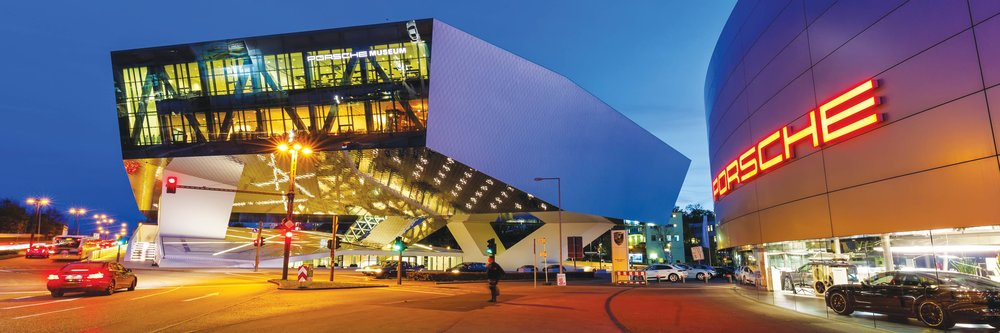 Porsche Museum — a must-see destination for Porsche enthusiasts.Markus Mainka / Shutterstock.com