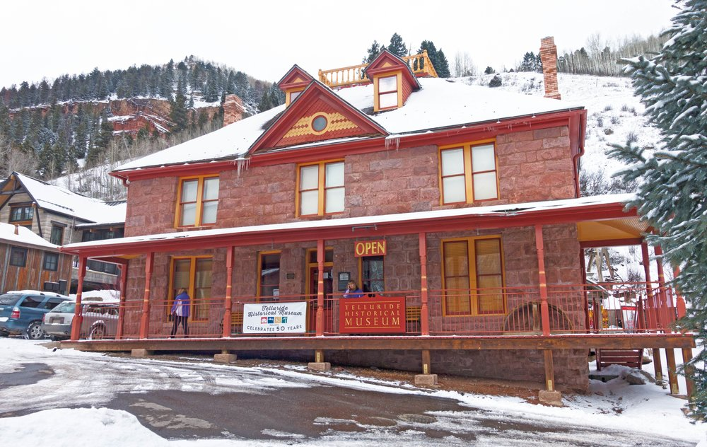 The Telluride Historical Museum has ten rooms dedicated to the town's history.SEASTOCK / Shutterstock.com