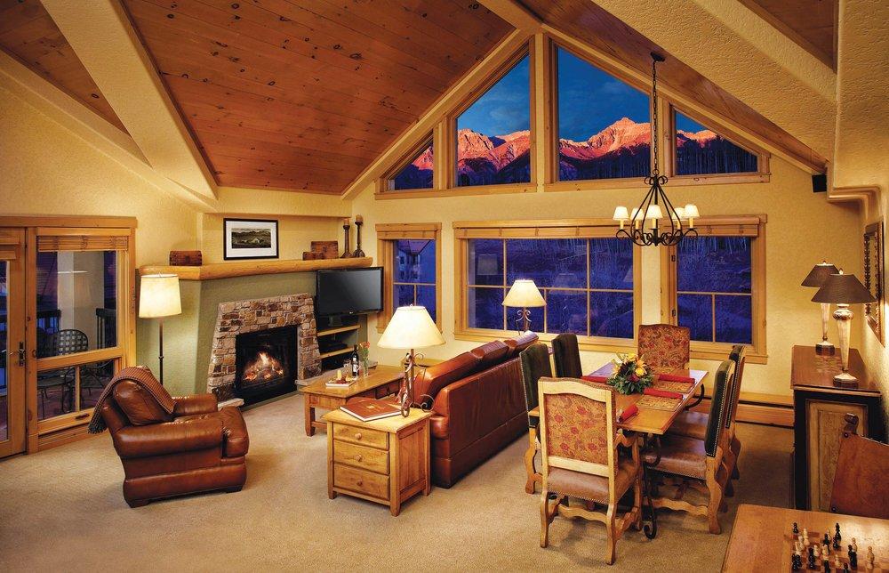 Fairmont's Franz Klammer Lodge offer luxe accommodations in Mountain Village.Fairmont Heritage Place Franz Klammer Lodge