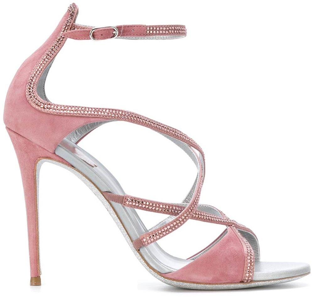 Crisscross Sandals by Rene Caovilla