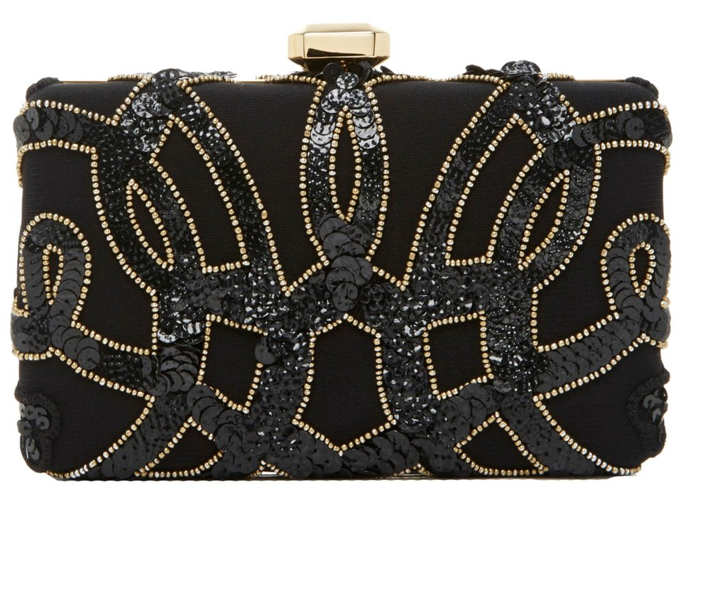 Embroidered Clutch by Elie Saab