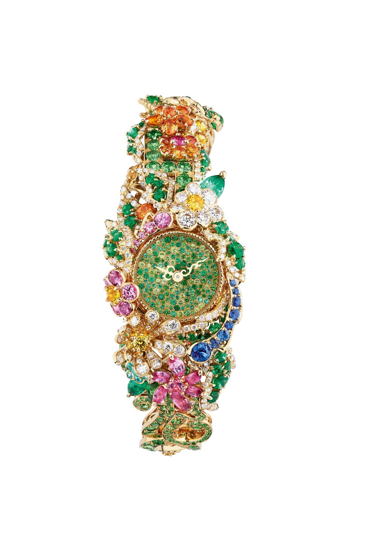 Clairière Émeraude High Jewellery Timepiece
