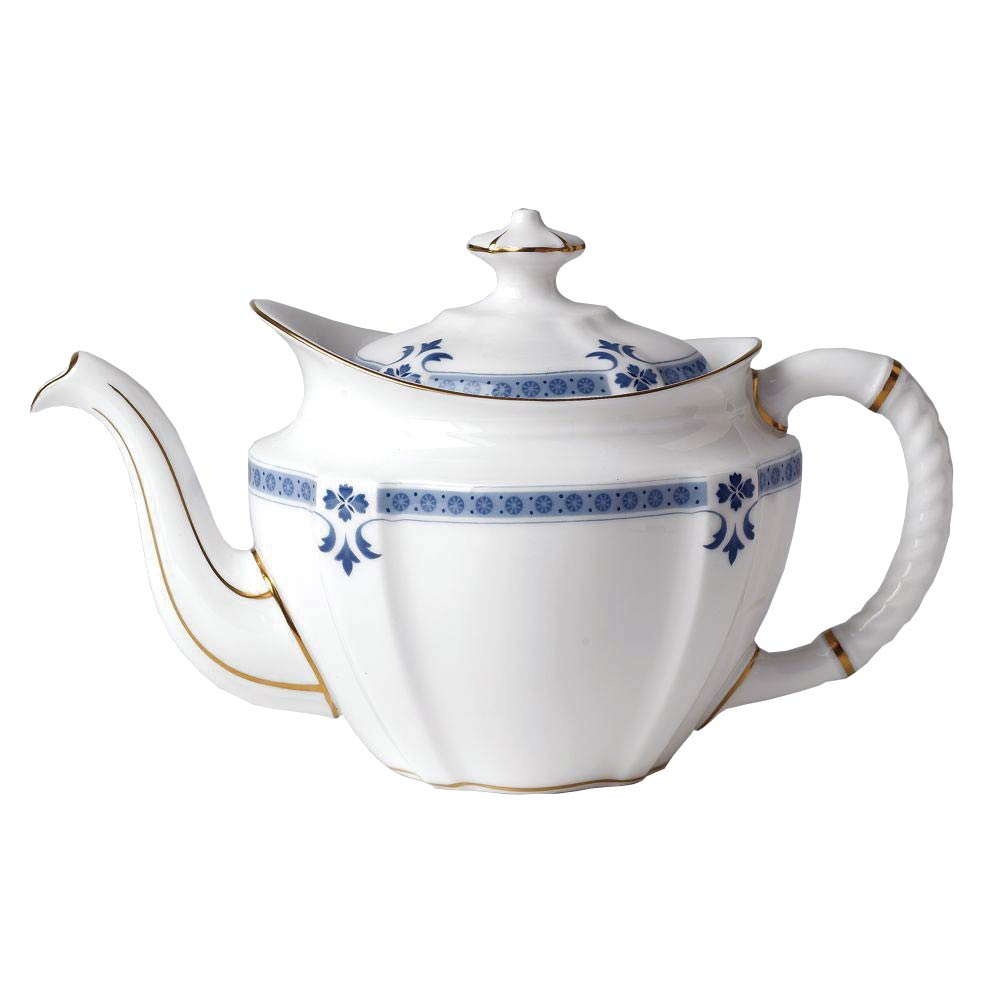 Royal Crown Derby Grenville Teapot, Cup & Saucer