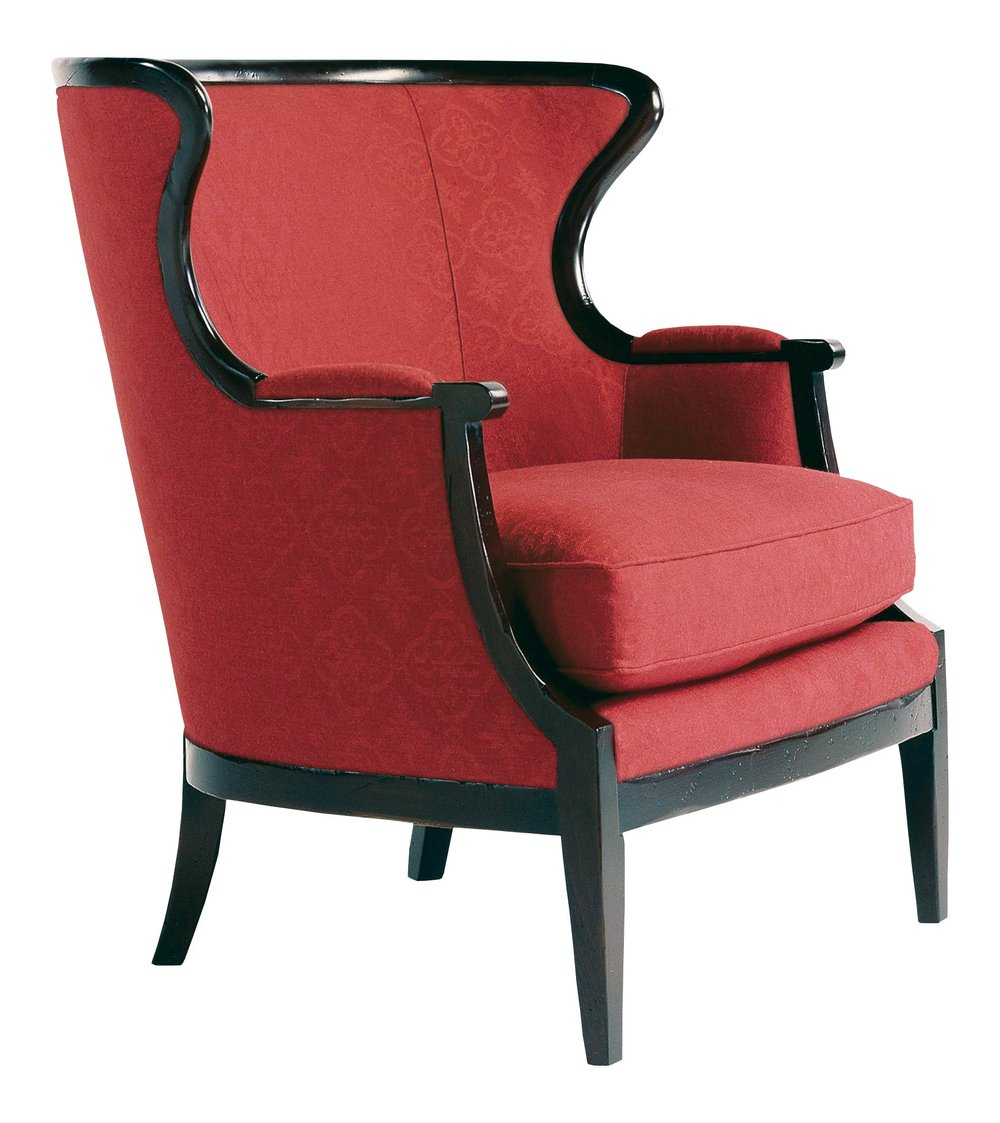 Baker Furniture Classics  Upholstery Wing Chair, $6,325
