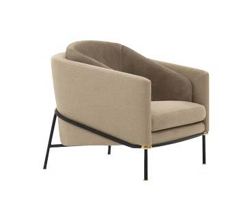 Minotti Fil Noir chairs