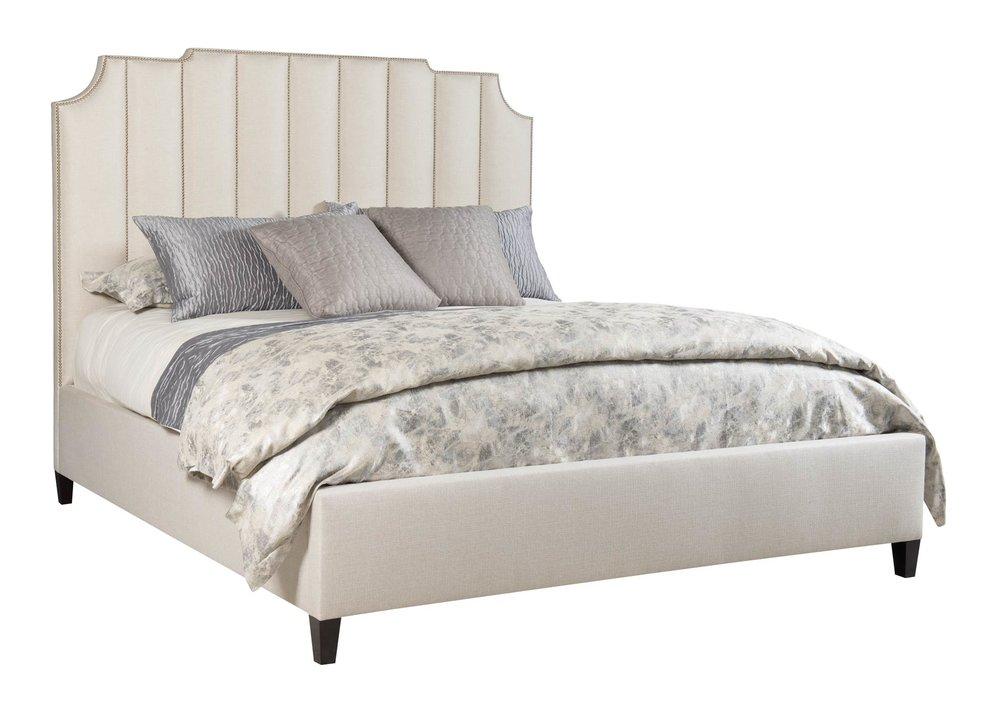 Bernhardt Bayonne Upholstered Bed $3,495