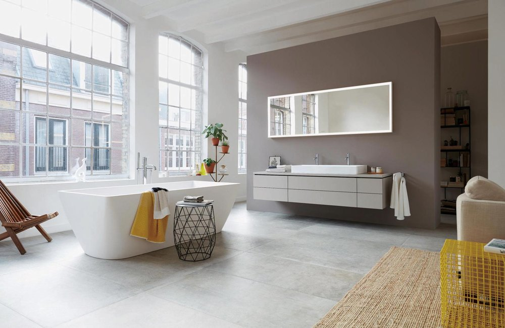 Duravit DuraSquare Washbasin & Bathtub