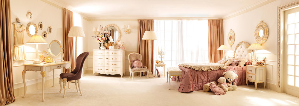 """Notte Fatata, which translates as """"Night Fairy,"""" is a luxury children's furniture line produced by Savio Firmino.Photo courtesy of Savio Firmino"""
