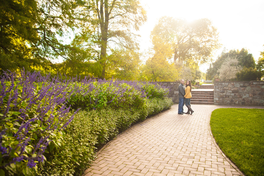 Longwood Gardens-Engagement Photography-Fall