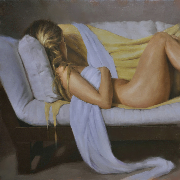 Reclining Nude by Will Pealatere
