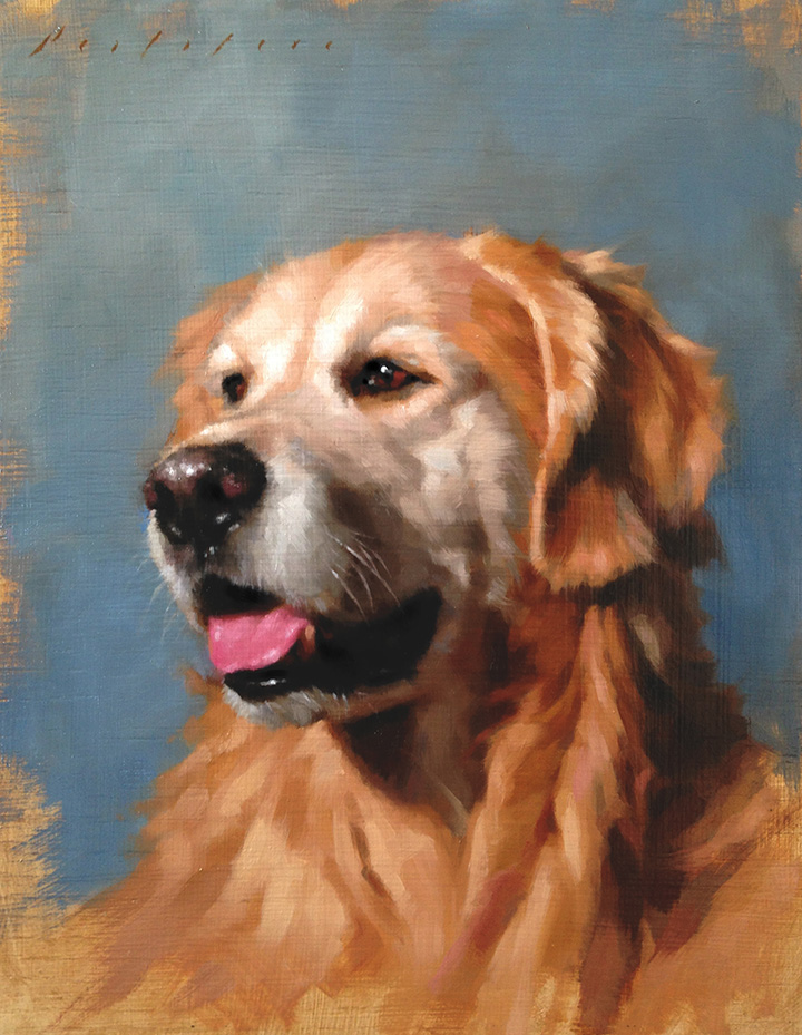 Golden Retriever by Will Pealatere