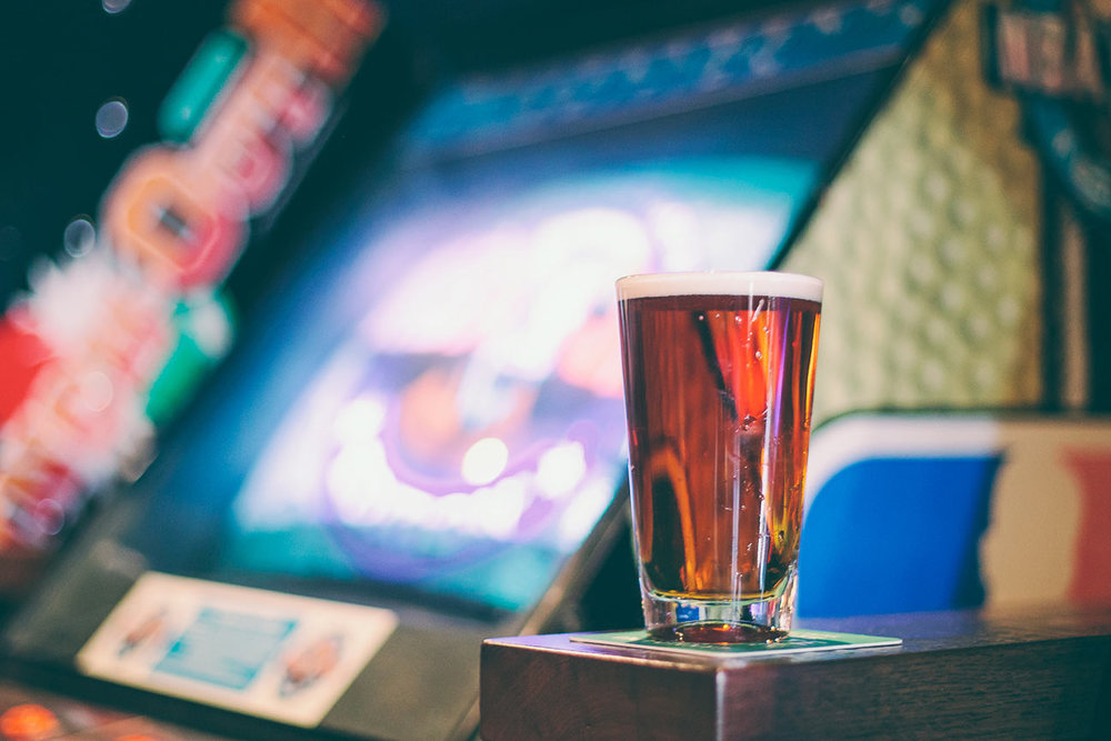 A retro watering hole, offering classic arcade games, old school cocktails and craft brew.