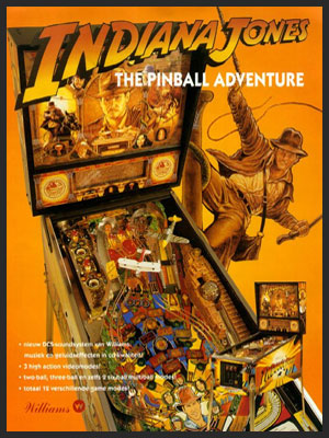 INDIANA JONES PINBALL ADVENTURE