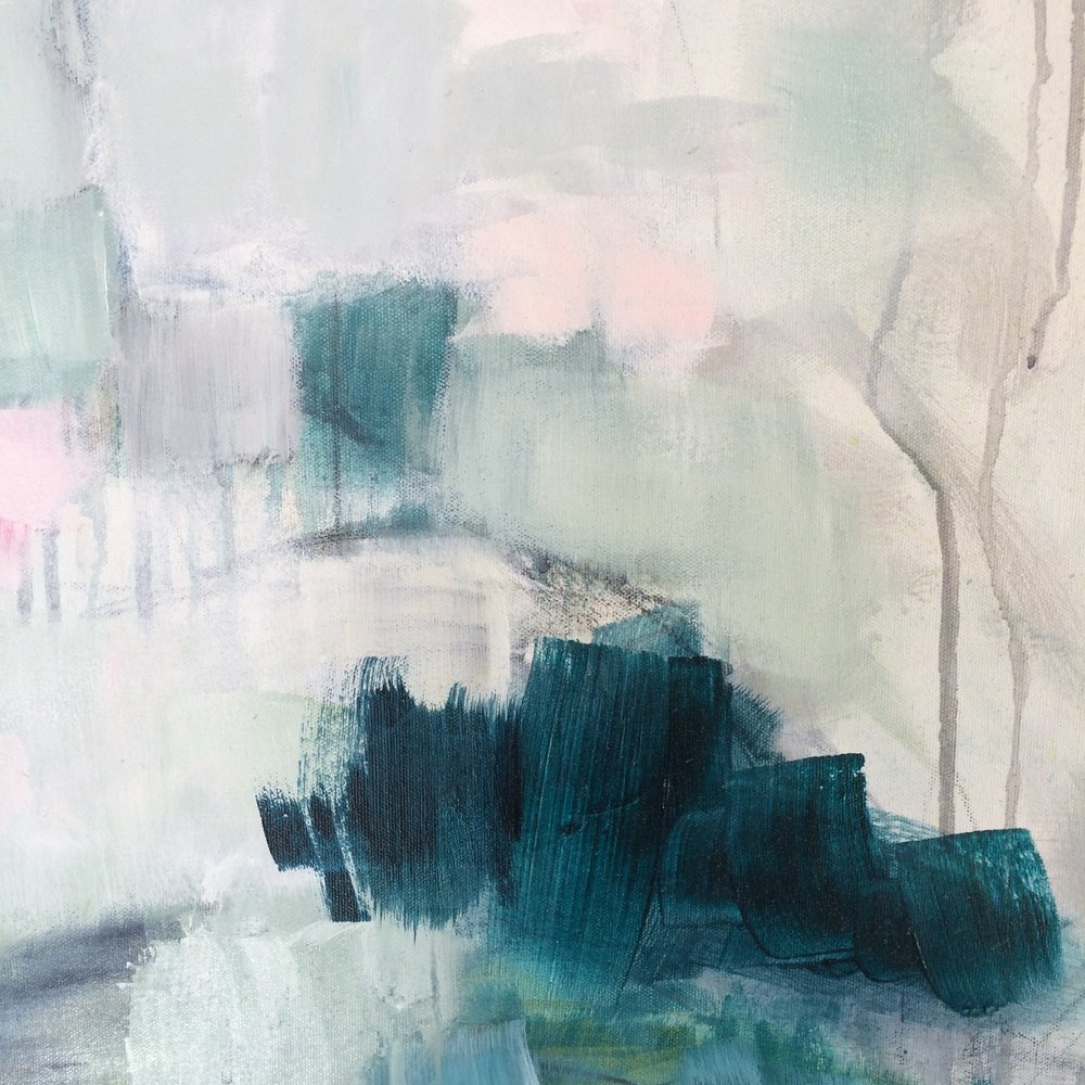 JULIE BRETON ART | DETAIL ABSTRACT PAINTING
