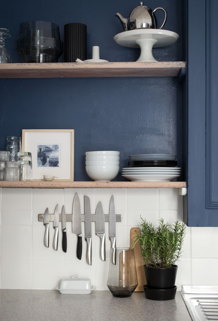 CURATE & DISPLAY  | KITCHEN RENO - ART BY  JULIE BRETON