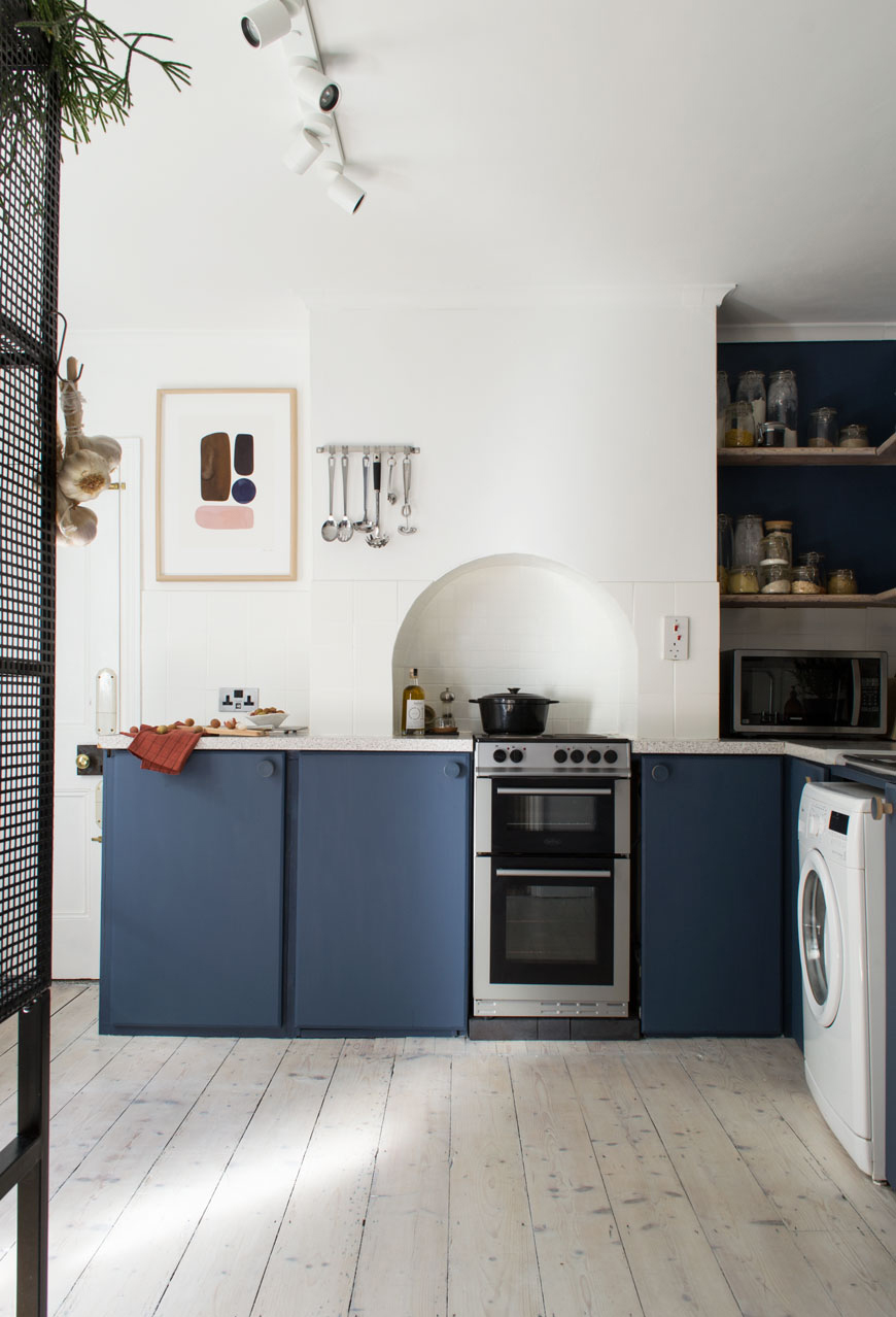 CURATE & DISPLAY | KITCHEN RENO - ART BY  BERIT MOGENSEN LOPEZ
