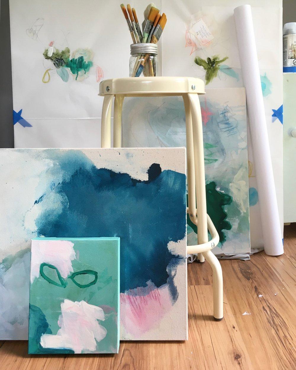 JULIE BRETON | ART STUDIO