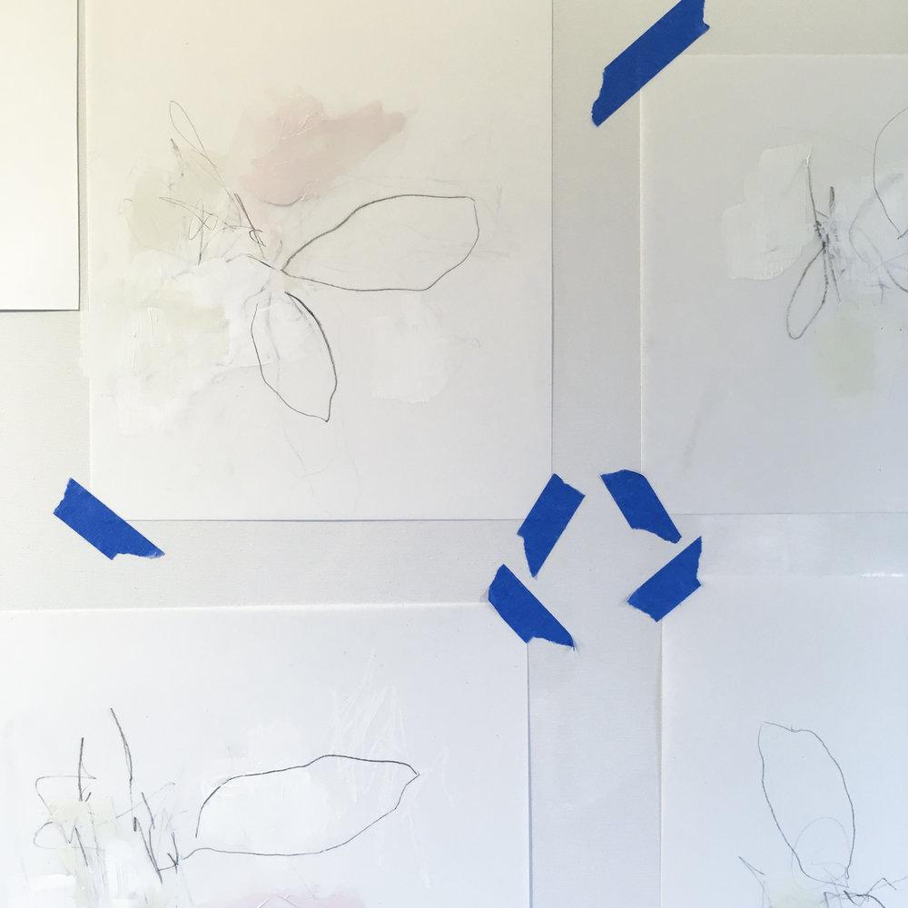 JULIE BRETON ART | ABSTRACT DRAWING