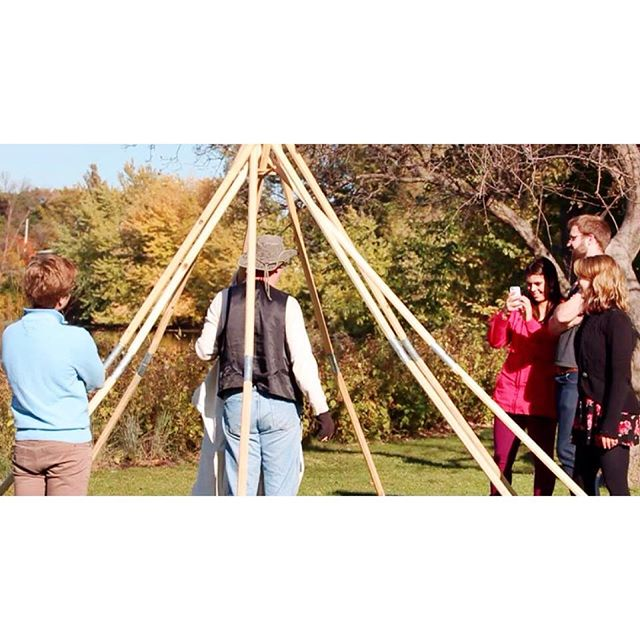 Today we are throwing it back to long weekend last year when ETL traveled to Duluth to learn how about Lavvu's (indigenous tent structures) from Sàmi Americans.  ETL is currently gearing up to conduct interviews with local women farmers over long weekend. Stay tuned for updates on this year's filming endeavors!