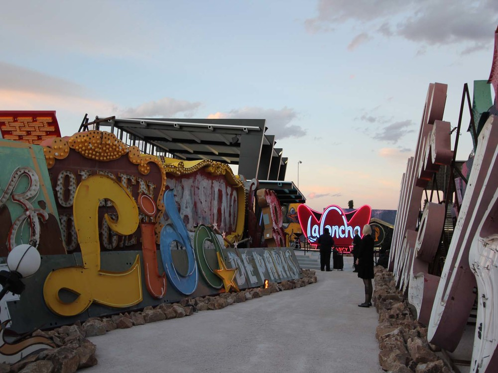 The Neon Museum Boneyard is home to over 150 neon signs.