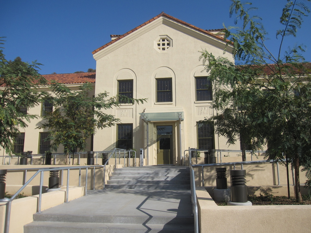 The National Register-listed historic district includes 48 contributing resources and 38 non-contributing resources, including Building 209.