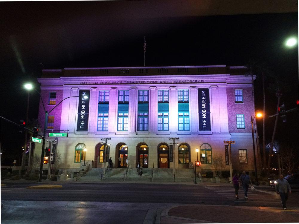 Mob Museum, exterior