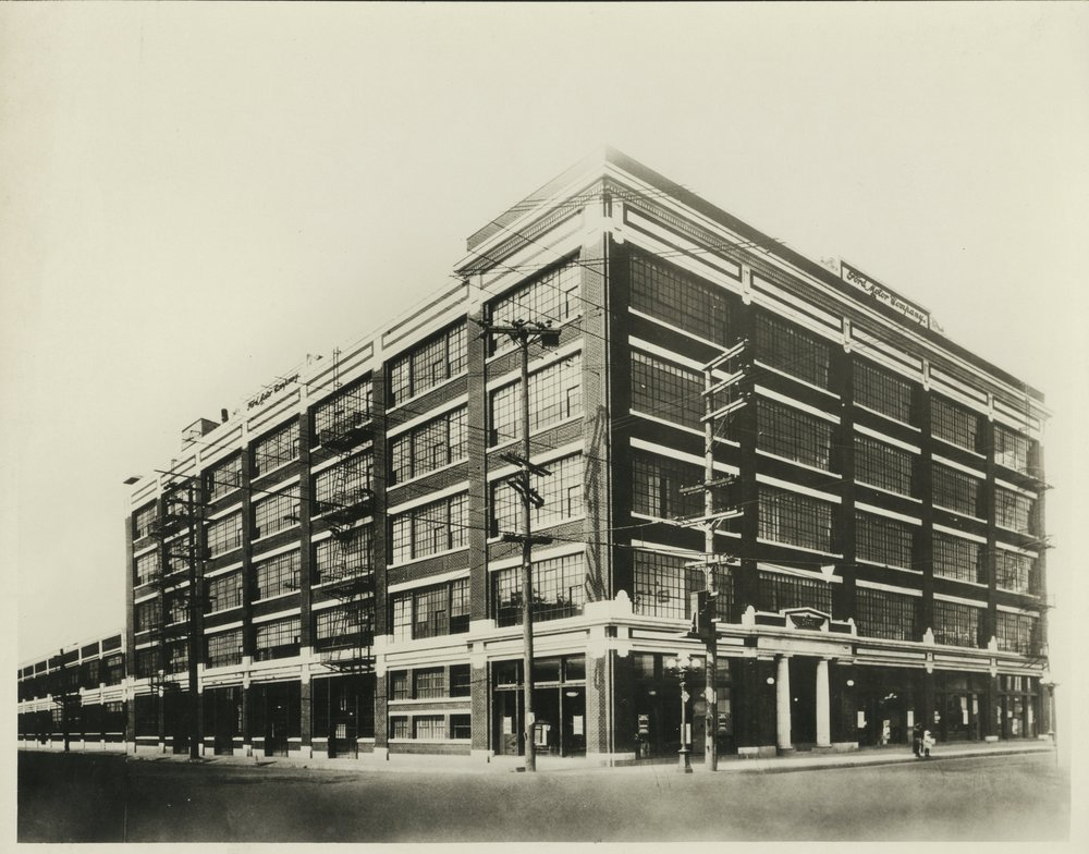 Ford Factory, historic photograph.
