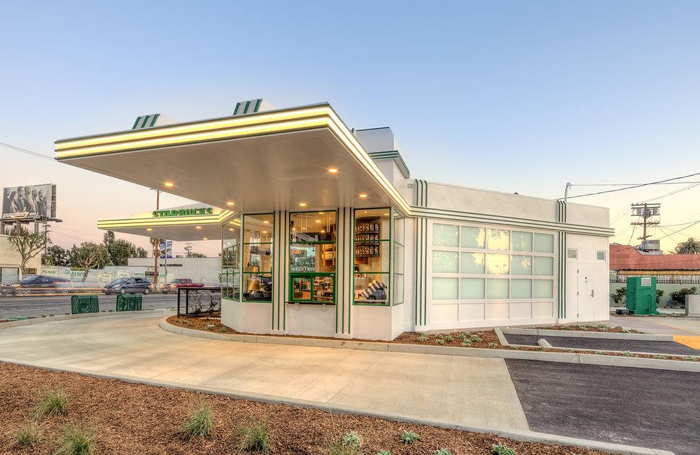 Gilmore Gas Station - Los Angeles, CA