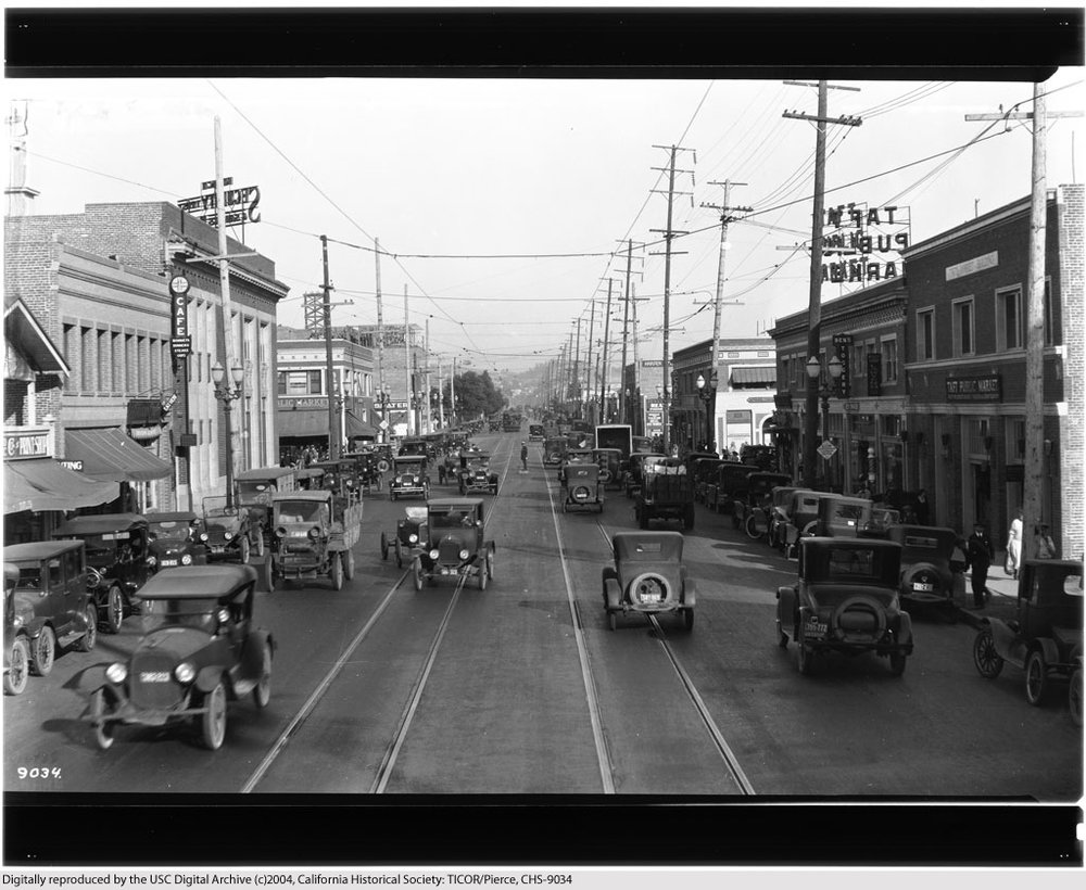 1924 Santa Monica east of Western (Title Insurance and Trust)