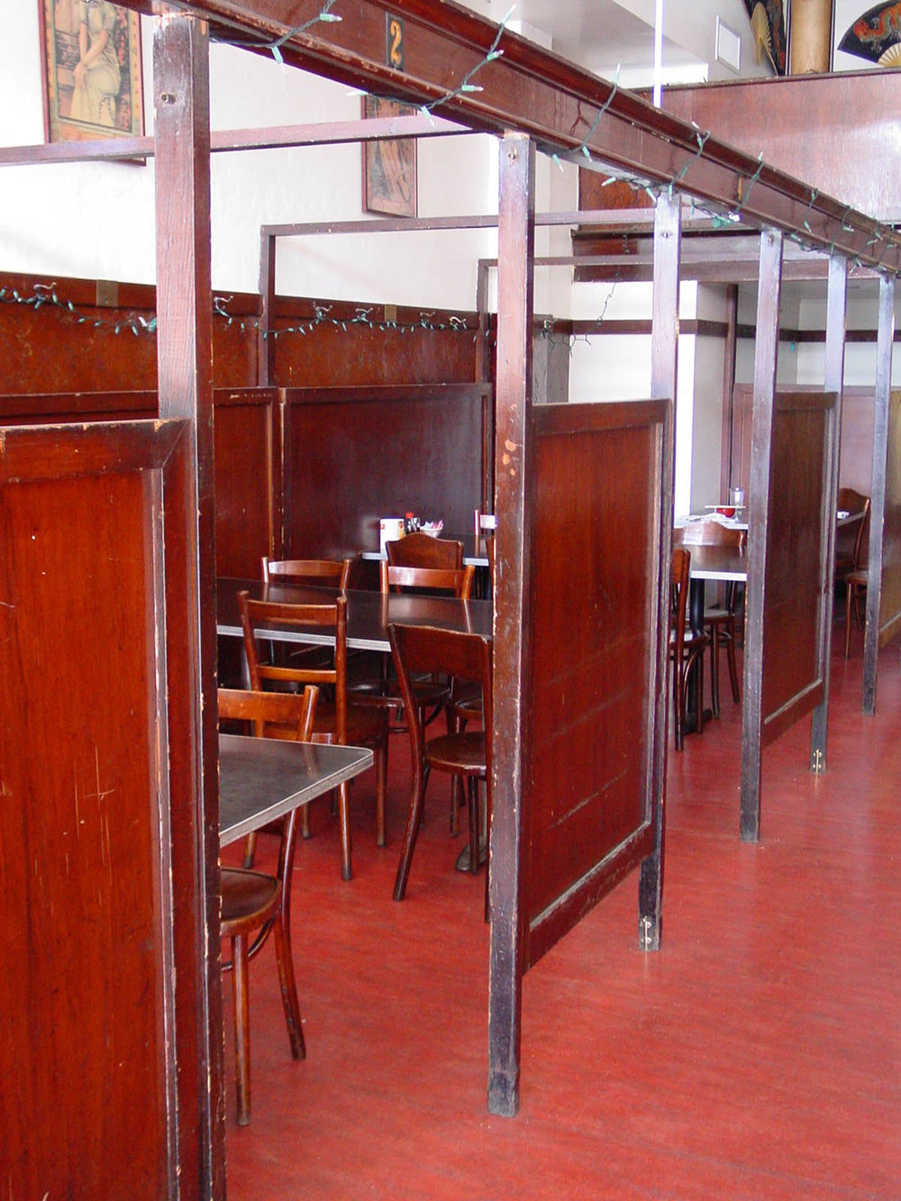 Restaurant booths.JPG