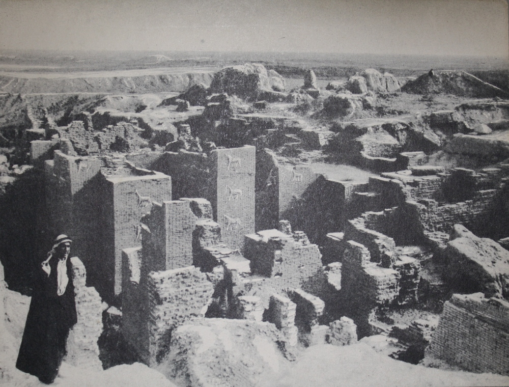 Excavation site of Ishtar Gate in the 1930s.