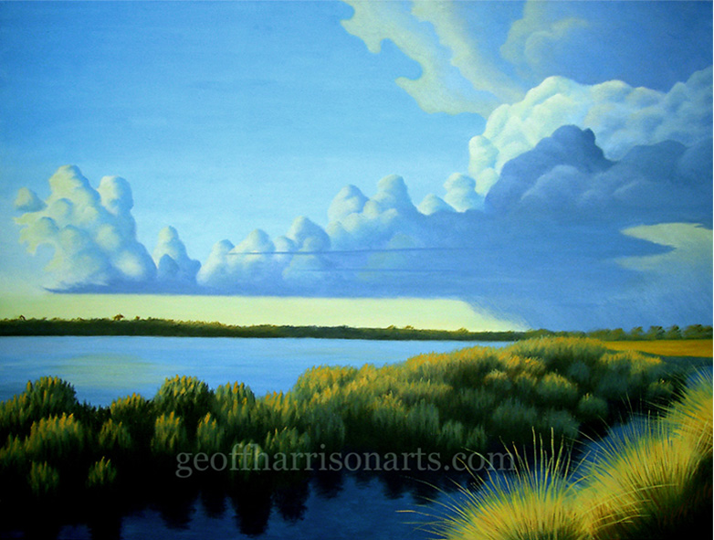 Calm After The Storm  Oil On Canvas  90 cm x 120 cm