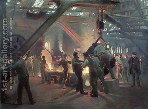 Kroyer - Steel Forge 1880's