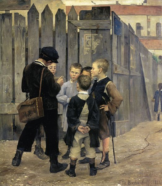 """A Meeting"", 193 cm x 177 cm, Oil On Canvas 1884"