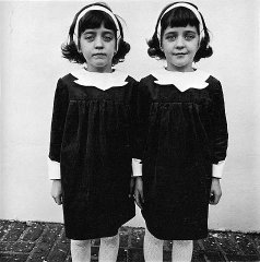 This image of identical twins so haunted Stanley Kubrick that he had to include something like it in his movie The Shining.