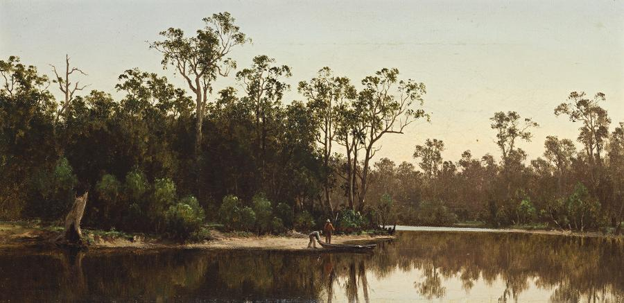 Twilight, River Goulburn Victoria 1878