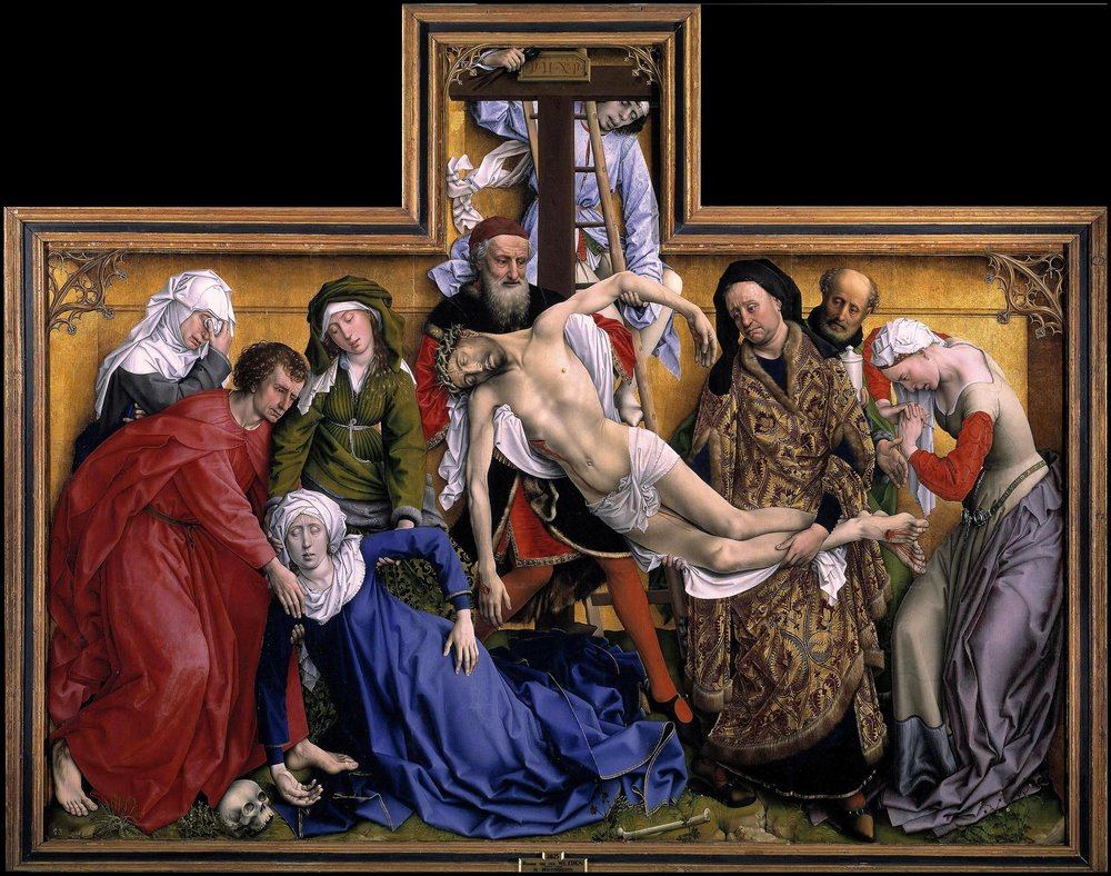 Rogier Van Der Weyden                                                                       Descent From The Cross