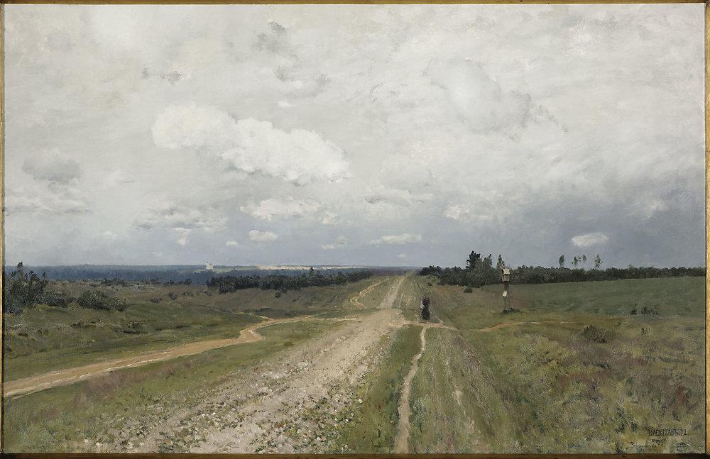 Levitan - Vladimirka Road