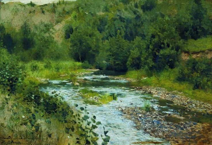Levitan - A River