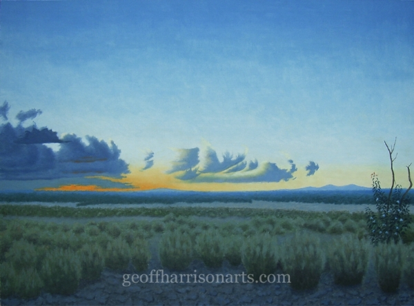 Dunolly Plains                        Oil On Canvas                            2013