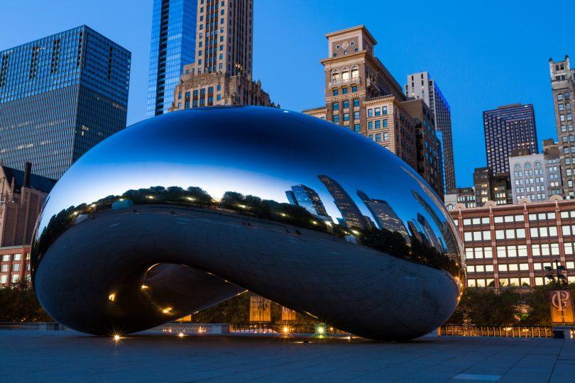 Anish Kapoor                                                    Cloud Gate                                                    Chicago, 2006