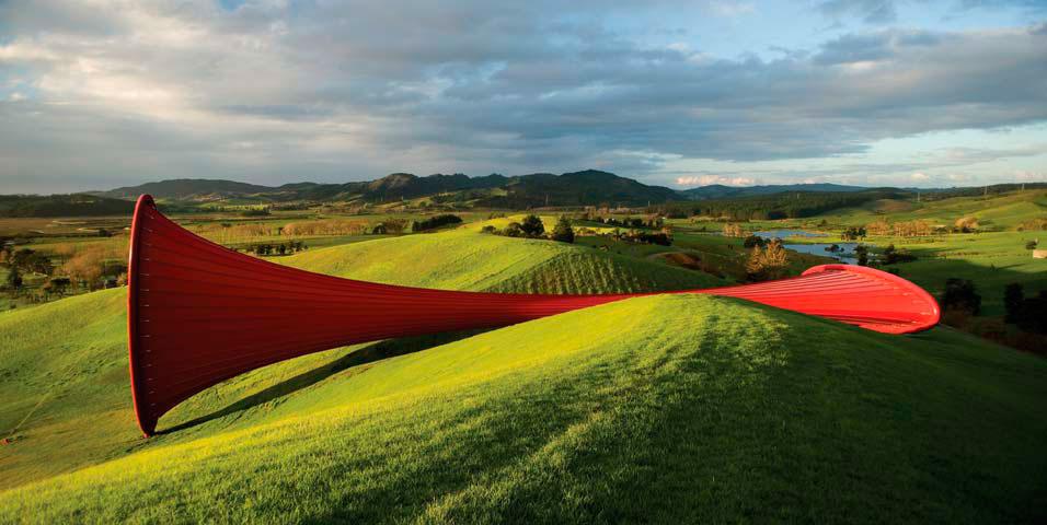 Anish Kapoor                                  Dismemberment - Site 1                                  Gibbs Farm, New Zealand, 2009