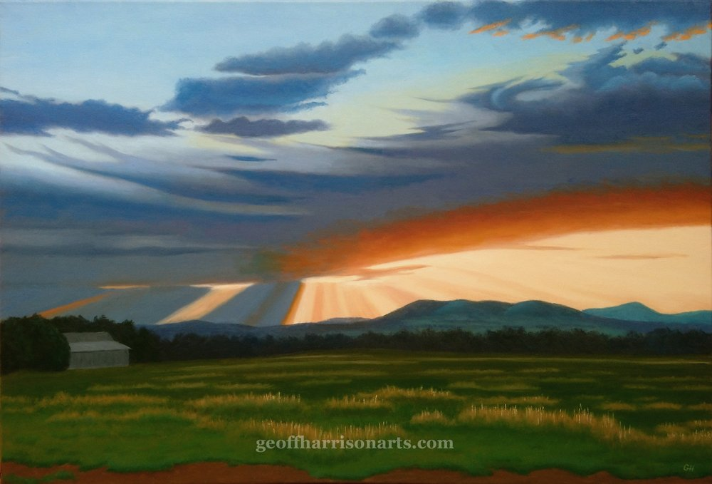 Murmungee   Oil On Canvas  61 cm x 91 cm