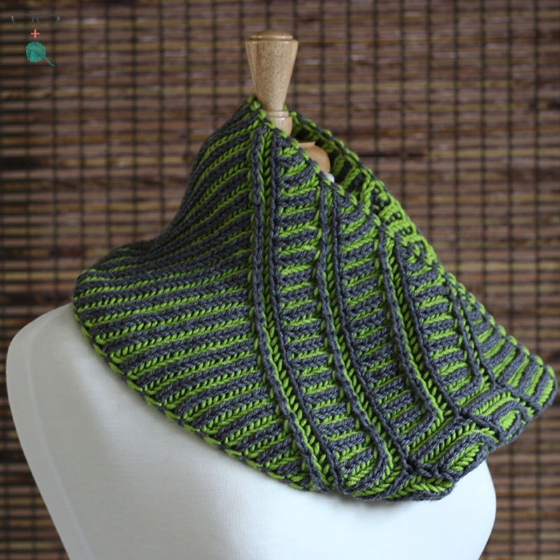 Knitting With Two Colors In The Round : How to two color brioche knit flat the unapologetic