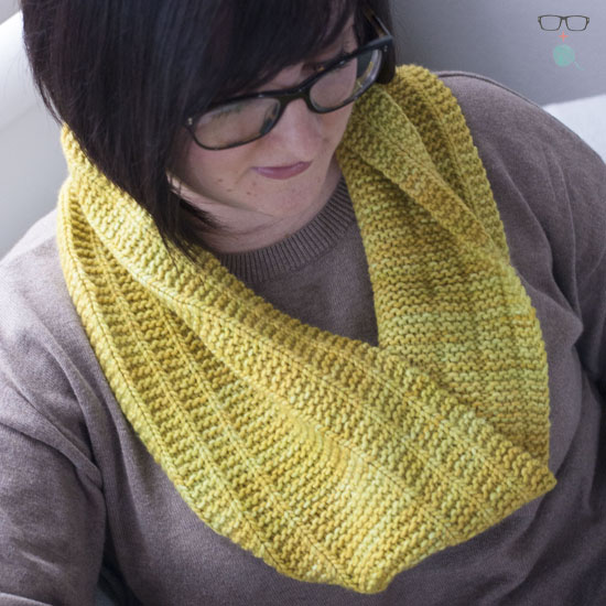 Quick Knit: Railroadster Cowl
