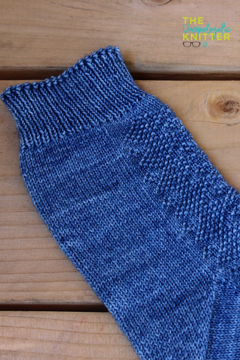Stubbly Hubbly - Toe Up Sock Knitting Pattern