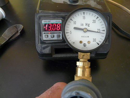 Click to see a short video on how much pressure can be achieved with the wine pump and valve
